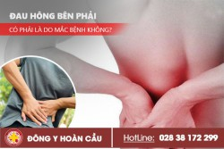Đau hông bên phải có phải là do bị bệnh không? | Phòng khám đa khoa Hoàn Cầu