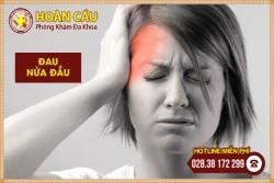 Triệu chứng đau nửa đầu báo hiệu nhiều bệnh lý nguy hiểm   Phòng khám đa khoa Hoàn Cầu