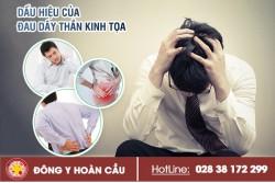 Những triệu chứng nhận biết đau dây thần kinh tọa | Phòng khám đa khoa Hoàn Cầu