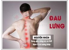 Nguyên nhân dẫn đến chứng đau lưng | Phòng khám đa khoa Hoàn Cầu