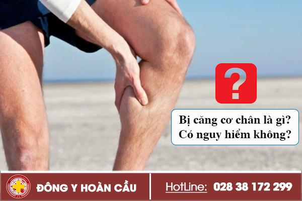 Bị căng cơ chân là gì có nguy hiểm không? | Phòng khám đa khoa Hoàn Cầu