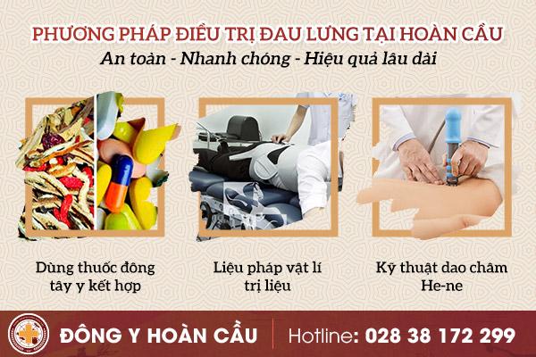 Cách chữa đau lưng hiệu quả, nhanh chóng hiện nay | Phòng khám đa khoa Hoàn Cầu