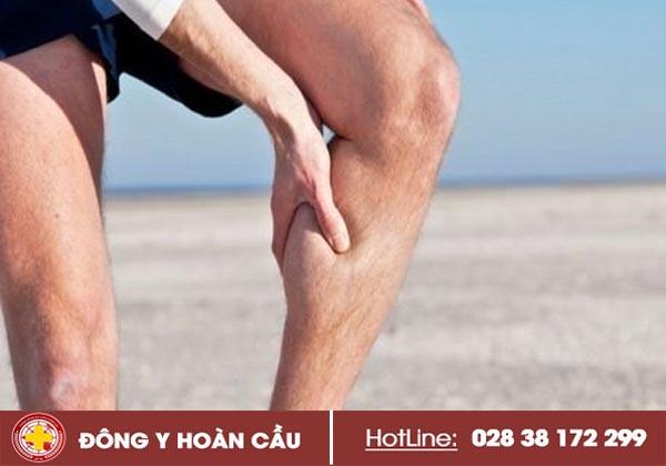 Bị căng cơ chân và những biến chứng nguy hiểm   Phòng khám đa khoa Hoàn Cầu
