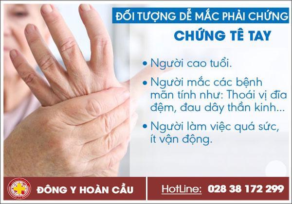 Tay bị tê là bệnh gì? Khắc phục tê tay bằng cách nào hiệu quả? | Phòng khám đa khoa Hoàn Cầu
