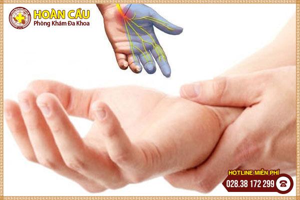 Nhận diện triệu chứng hội chứng ống cổ tay chuẩn nhất | Phòng khám đa khoa Hoàn Cầu