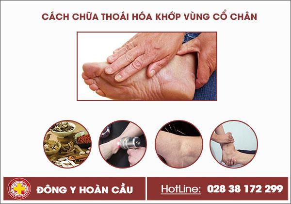 Thoái hóa khớp vùng cổ chân là gì và cách chữa trị hiệu quả | Phòng khám đa khoa Hoàn Cầu